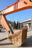 天桥建造场所 免版税库存照片