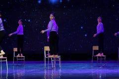 天毕业3 -中国民间舞 图库摄影