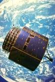 天气卫星 免版税库存图片