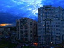 天气圣彼德堡 免版税库存照片