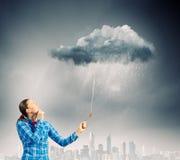 天气概念 免版税库存照片