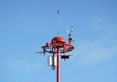 天气测量单位 库存照片