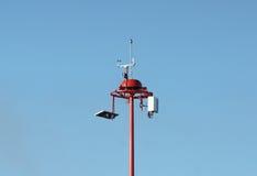 天气测量单位 免版税库存图片