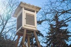 天气测量 免版税库存照片