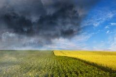 天气的崩溃 库存照片