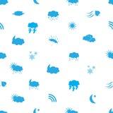 天气象样式eps10 免版税库存照片