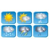 天气象,传染媒介 库存照片