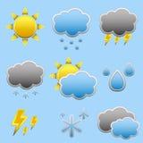 天气象 免版税图库摄影