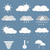 天气象 免版税库存照片