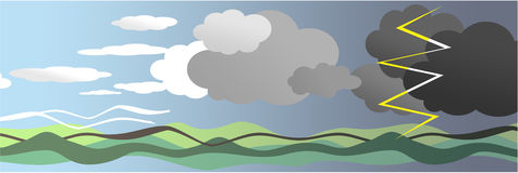 天气 库存照片