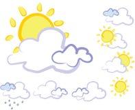 天气 向量例证