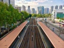 天水围,香港看法  图库摄影