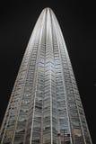 天津塔在晚上 免版税库存图片
