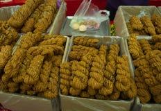 天津著名快餐 转弯和甜点 旅行在天津,中国, 库存图片