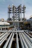 天然气产业处理 库存照片
