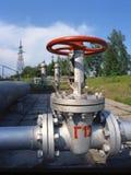 天然气产业油 免版税库存照片