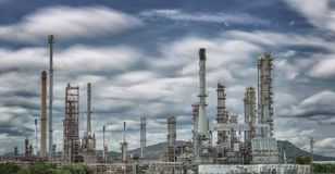 天然气产业油 免版税库存图片