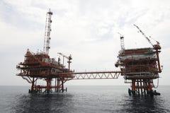天然气产业 库存照片