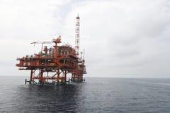 天然气产业 图库摄影