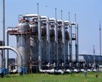 天然气产业 免版税图库摄影