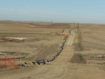 天然气管道 库存照片