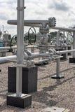 天然气设施 库存图片