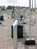 天然气设施 免版税库存照片