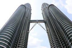 天然碱双塔-吉隆坡马来西亚亚洲 库存照片