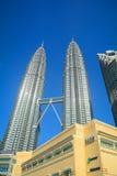天然碱塔,吉隆坡,马来西亚 免版税库存照片