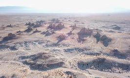 天然碱石峰加利福尼亚 免版税库存照片