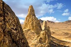 天然碱石峰峰顶 免版税图库摄影