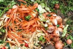 天然肥料堆 库存照片