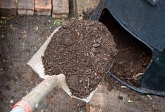 天然肥料 库存照片