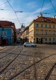 天生活在欧洲首都 布拉格 免版税库存图片