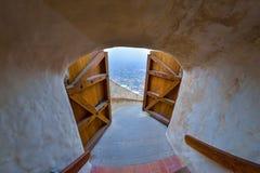 天界堡垒,罗马尼亚 免版税库存图片
