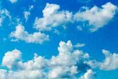 天空云彩。 免版税库存照片