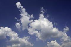 天空云彩背景 库存图片
