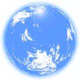 天空云彩360 免版税库存图片