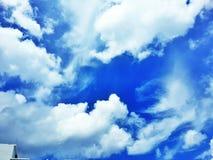 天空云彩 图库摄影