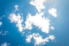 天空云彩 免版税库存图片