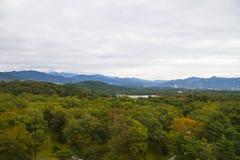 天空京都,日本 图库摄影