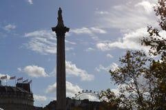 天空伦敦大厦Scape  库存照片