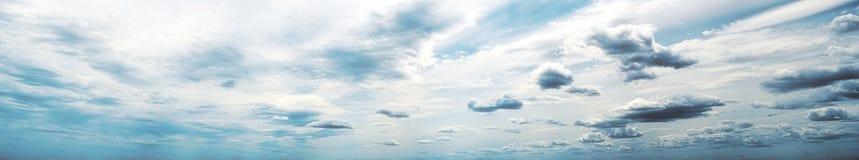 天空全景艺术天夏天 库存照片