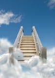 天空台阶 库存图片