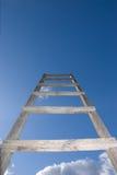 天空台阶 库存照片