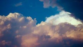 天空和云彩摘要 免版税库存照片