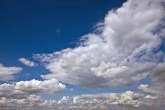 天空和云彩背景 免版税库存图片