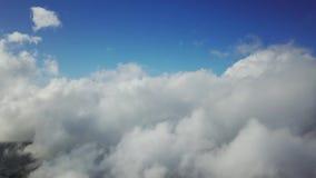 天空和云彩鸟瞰图  股票视频