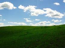 天空和地球 免版税库存照片