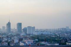 天空和城市 图库摄影